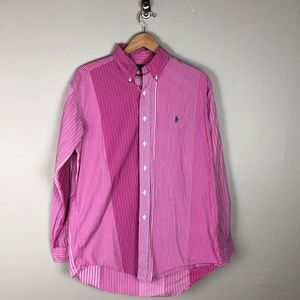 Ralph Lauren Pink Button Down Shirt